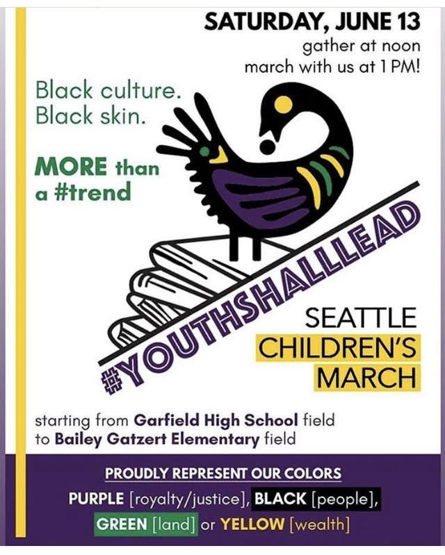 Seattle Children's March - #YouthShallLead