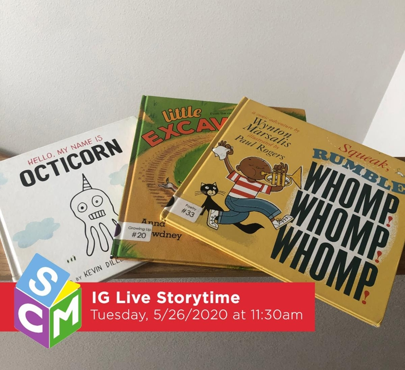 Seattle Children's Museum Live Instagram Storytime
